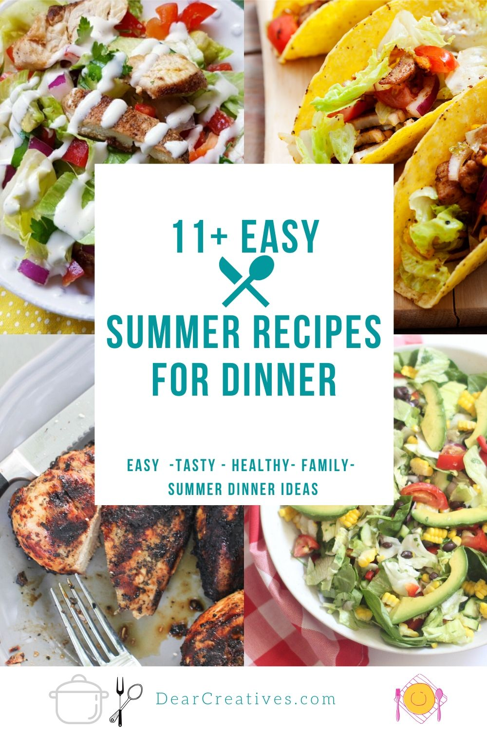 Summer Recipes For Dinner!