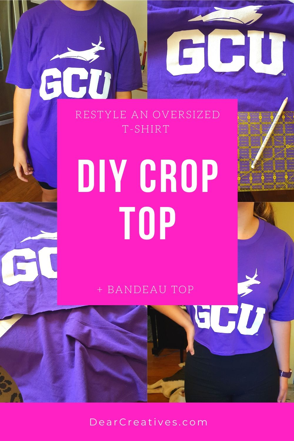 DIY Crop Top – Sew And No Sew Instructions