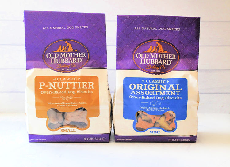 Old Mother Hubbard Oven Baked Dog Biscuits - DearCreatives.com